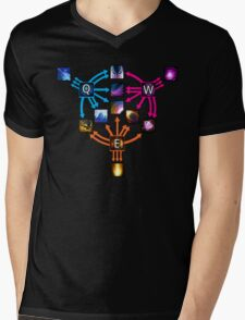 Invoker Cheat Sheet Mens V-Neck T-Shirt