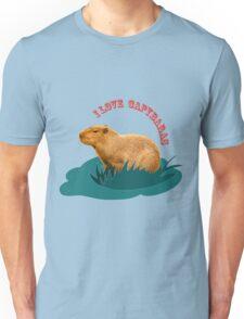 I love capybaras Unisex T-Shirt
