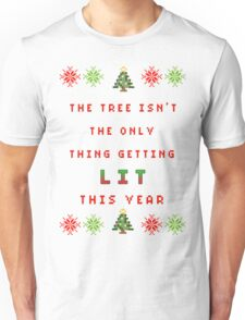 Christmas Tree - get lit Unisex T-Shirt