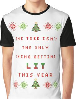Christmas Tree - get lit Graphic T-Shirt