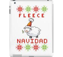 Fleece Navidad - Feliz Navidad iPad Case/Skin