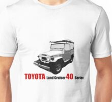 Toyota Land Cruiser 40 Series Unisex T-Shirt