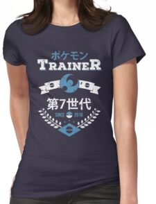 Moon Trainer Womens Fitted T-Shirt