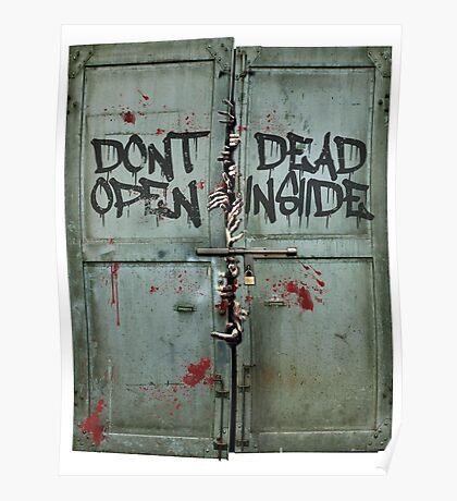 The walking dead - dead inside - zombie Poster