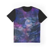Aurelia | Alcohol Ink Abstract Graphic T-Shirt