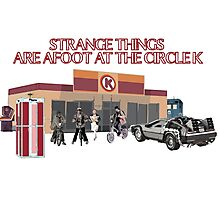 Strange Things are Afoot Photographic Print