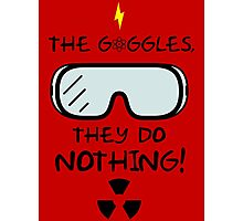 The Goggles Photographic Print