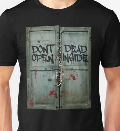 The walking dead - dead inside - zombie Unisex T-Shirt