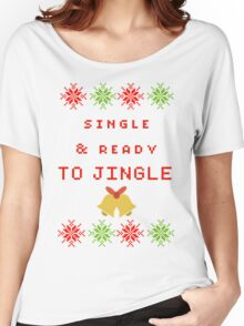Single and Ready to Mingle (JINGLE) Women's Relaxed Fit T-Shirt