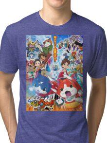 Yokai Watch ! Tri-blend T-Shirt