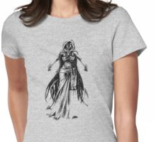 Devil in Cloak Womens Fitted T-Shirt