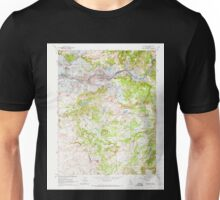 USGS TOPO Map California CA Wallace 301184 1962 24000 geo Unisex T-Shirt