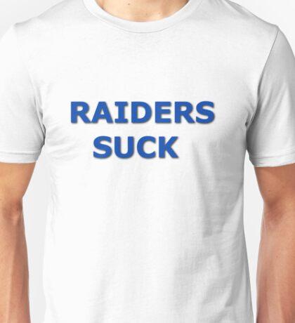 Raiders Suck Unisex T-Shirt