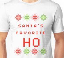 Santa's Favorite HO Unisex T-Shirt