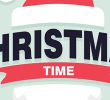 Christmas Time Design Sticker
