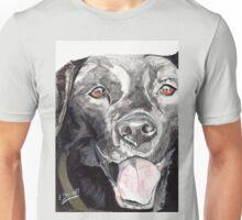 Black Labrador 2 Unisex T-Shirt
