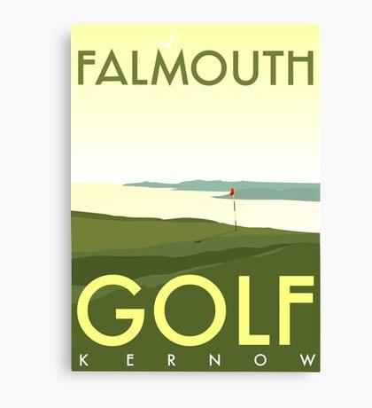 Falmouth Golf Club Scene Canvas Print