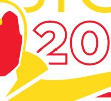 Vision 2020 Sticker