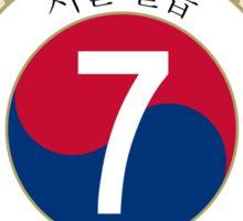 The Seoul Seven Sticker