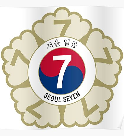 The Seoul Seven Poster