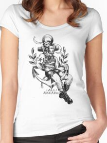 All Aboard ! Women's Fitted Scoop T-Shirt