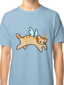 Orange Tabby Cat Angel Classic T-Shirt