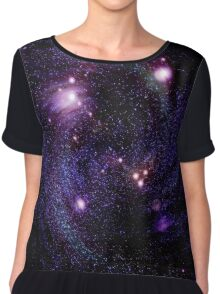 Space background Chiffon Top
