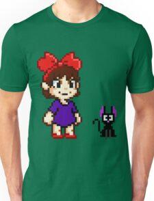 Kiki and Jiji Pixel Art Unisex T-Shirt