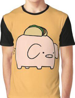 Taco Pig Graphic T-Shirt