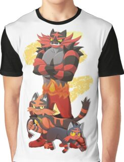 Litten Evolutions Graphic T-Shirt