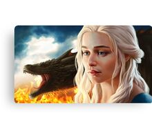 FIRE: Mother of Dragons Canvas Print
