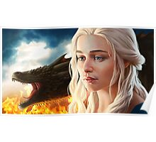 FIRE: Mother of Dragons Poster