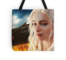 FIRE: Mother of Dragons Tote Bag