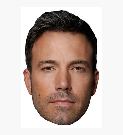 Ben Affleck Photographic Print