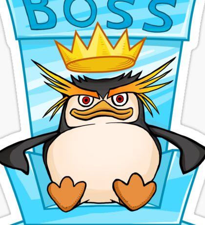 King Penguin - The Throne Sticker