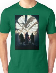 Benedict Cumberbatch 4 iconic characters by lichtblickpink Unisex T-Shirt
