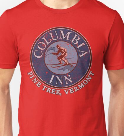 Columbia Inn, Pine Tree Vermont Unisex T-Shirt
