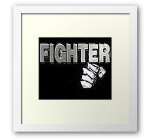 Fist Fighter Framed Print