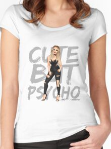 Cute but psycho - PE Women's Fitted Scoop T-Shirt