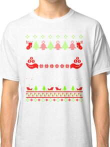 Christmas T-shirt - Merry Christmas Ya Filthy Animal Classic T-Shirt