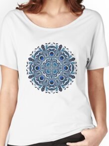 Snowflake fractal pattern Women's Relaxed Fit T-Shirt