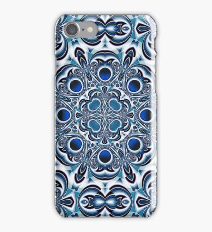 Snowflake fractal pattern iPhone Case/Skin