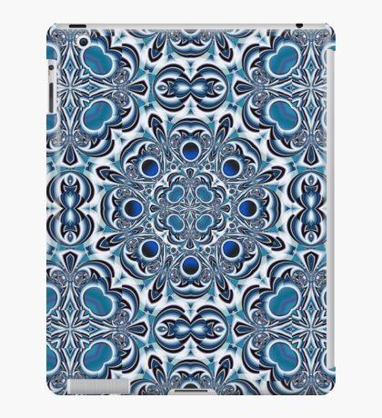 Snowflake fractal pattern iPad Case/Skin