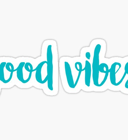 good vibes trendy free spirit laptop sticker sorority  Sticker