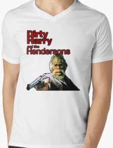 Dirty Harry and the Hendersons Mens V-Neck T-Shirt