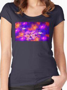 Flower Fields Women's Fitted Scoop T-Shirt