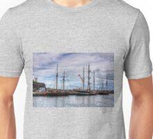 Tall Ships at Anchor Unisex T-Shirt