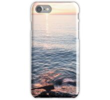 Rough and Soft - Silky Water and Hard Rocks at Sunrise iPhone Case/Skin