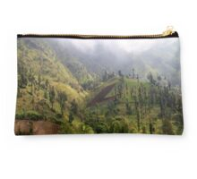 The Mountains of East Java Studio Pouch