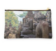 Headless Buddhas. Borobudur, Indonesia. Studio Pouch